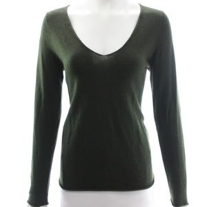 ZADIG & VOLTAIRE GREEN SWEATER SIZE S